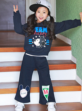 """<font color=#4bb999>* JKIDS 2017 S / S *</font> <br>チームミッキー上下SET <br> <font color=""""#9f9f9f"""">♡かわいいミッキー♡ <br>マンツーマン+パンツ!</font>"""