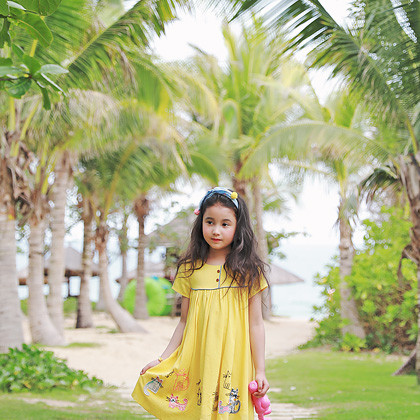 """<font color=#4bb999>* JKIDS 2017 S / S *</font> <br>レプチワンピース<br> <font color=""""#9f9f9f"""">♡行き来可愛いギャル♡ <br>ミャオ族キュートキャット!</font>"""