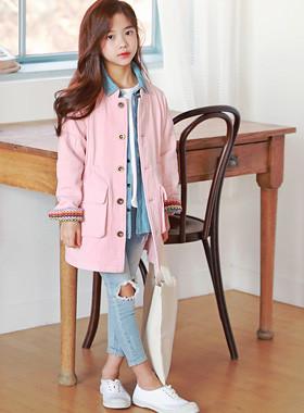 """ピンキーロディ像<br> <font color=""""#9f9f9f"""">♡一緒にしたいピンクのジャケット♡ <br>センスのあるステッチライン!</font>"""