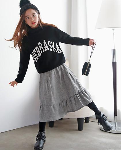 """フォグフレアロングスカート<br> <font color=""""#9f9f9f"""">*♡丈感の良いロングスカート♡* <br> *あちこちマッチする良いアイテム*</font>"""