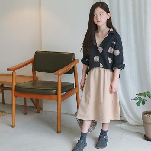 リンコ刺繍シャツロングスカートSET